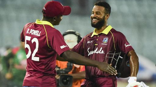 BAN vs WI 2018 : Second ODI - Statistical Highlights