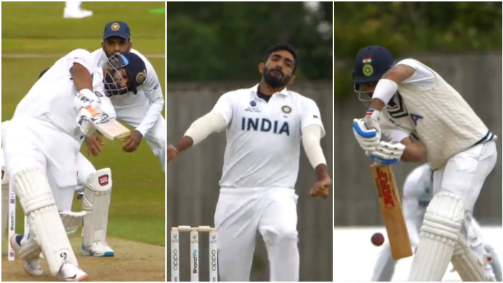 WATCH - Team India's intra-squad match Day 1 highlights ahead of WTC final