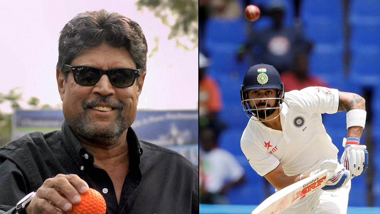 Virat Kohli will mellow down with time, feels Kapil Dev