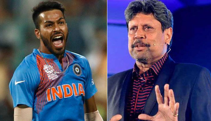 Kapil Dev still a bit hesitant to give Hardik Pandya the tag of genuine all-rounder