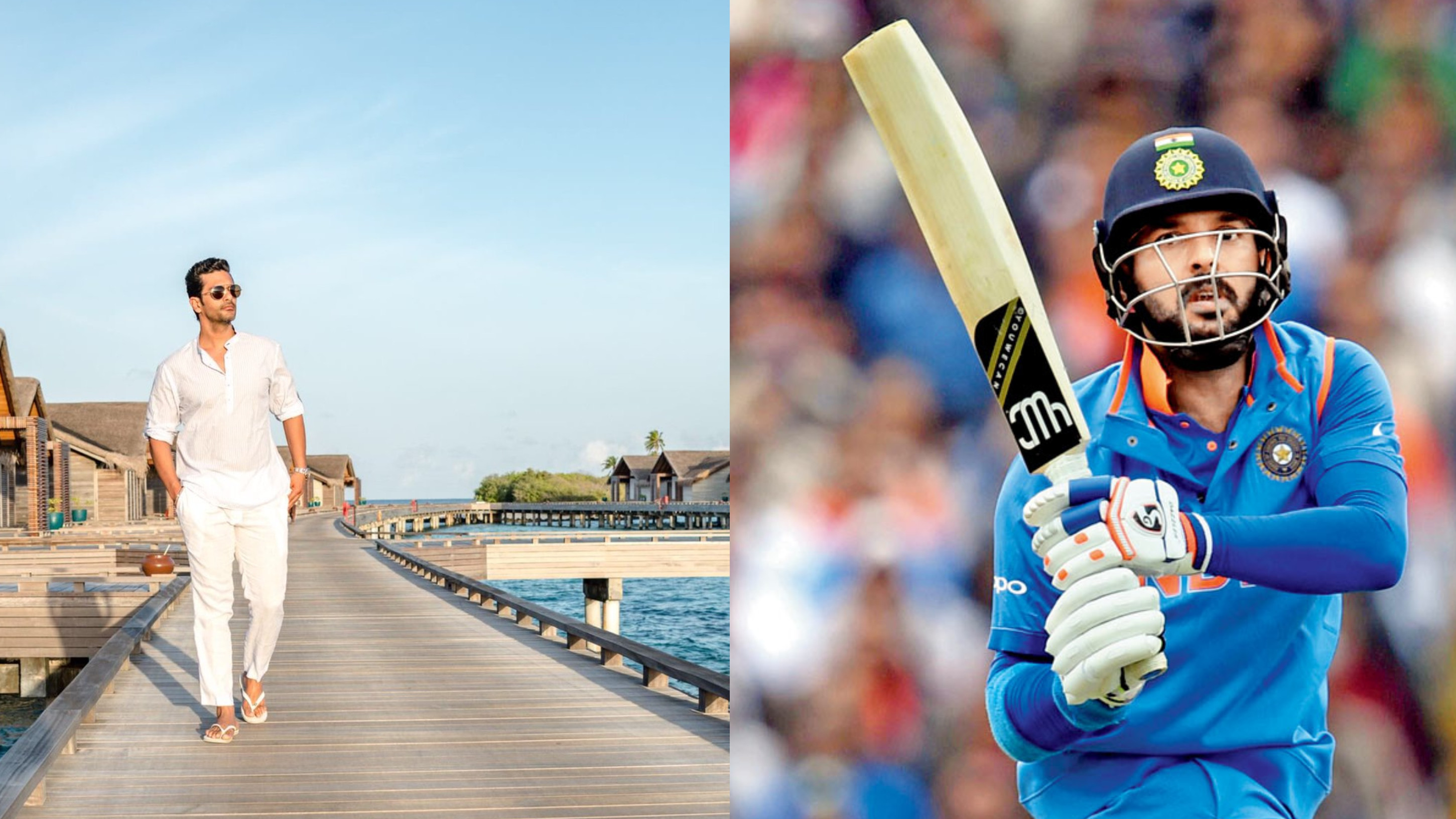 Yuvraj Singh's special gift for Bollywood actor Angad Bedi