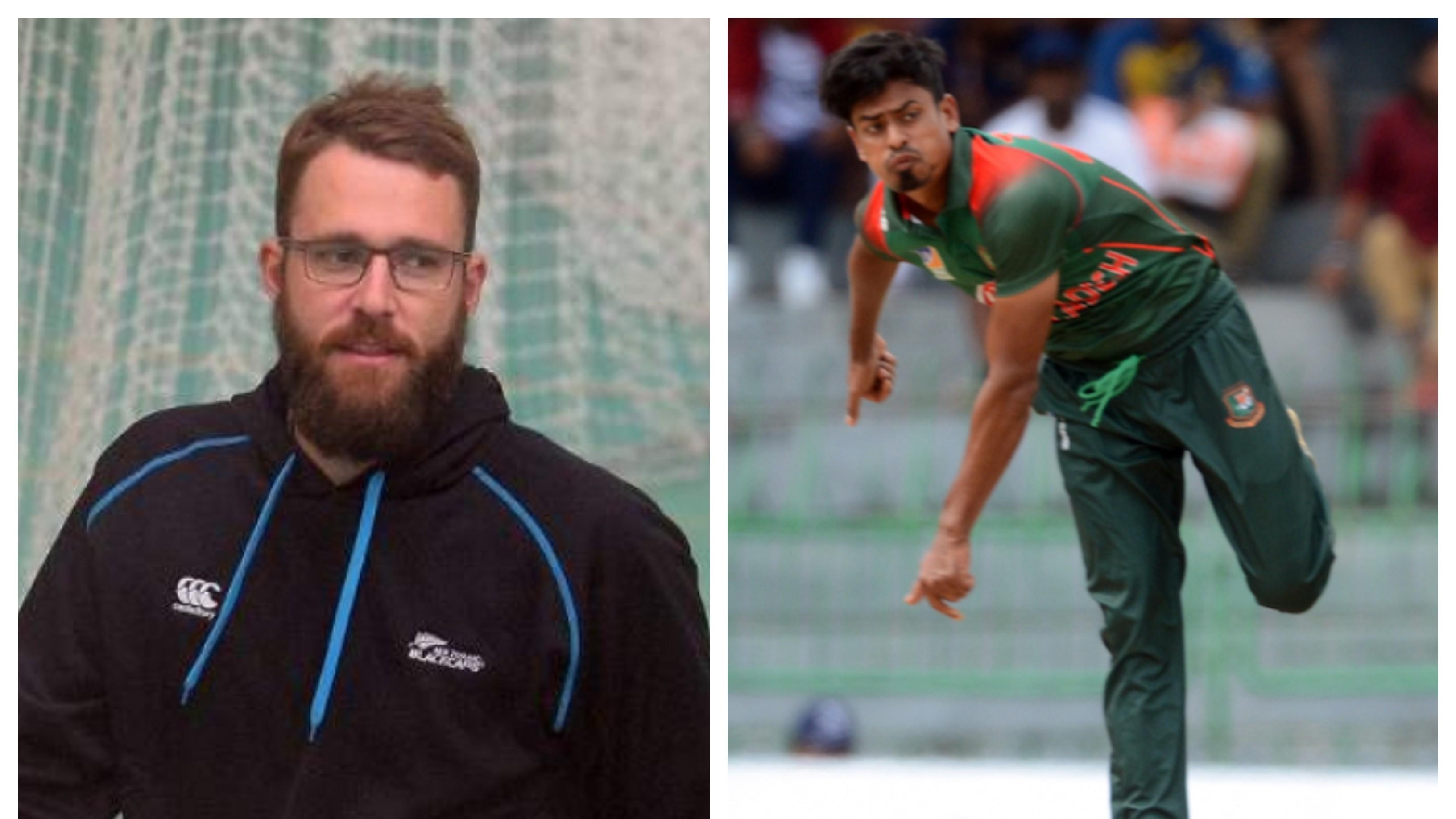 Taijul Islam credits Daniel Vettori for