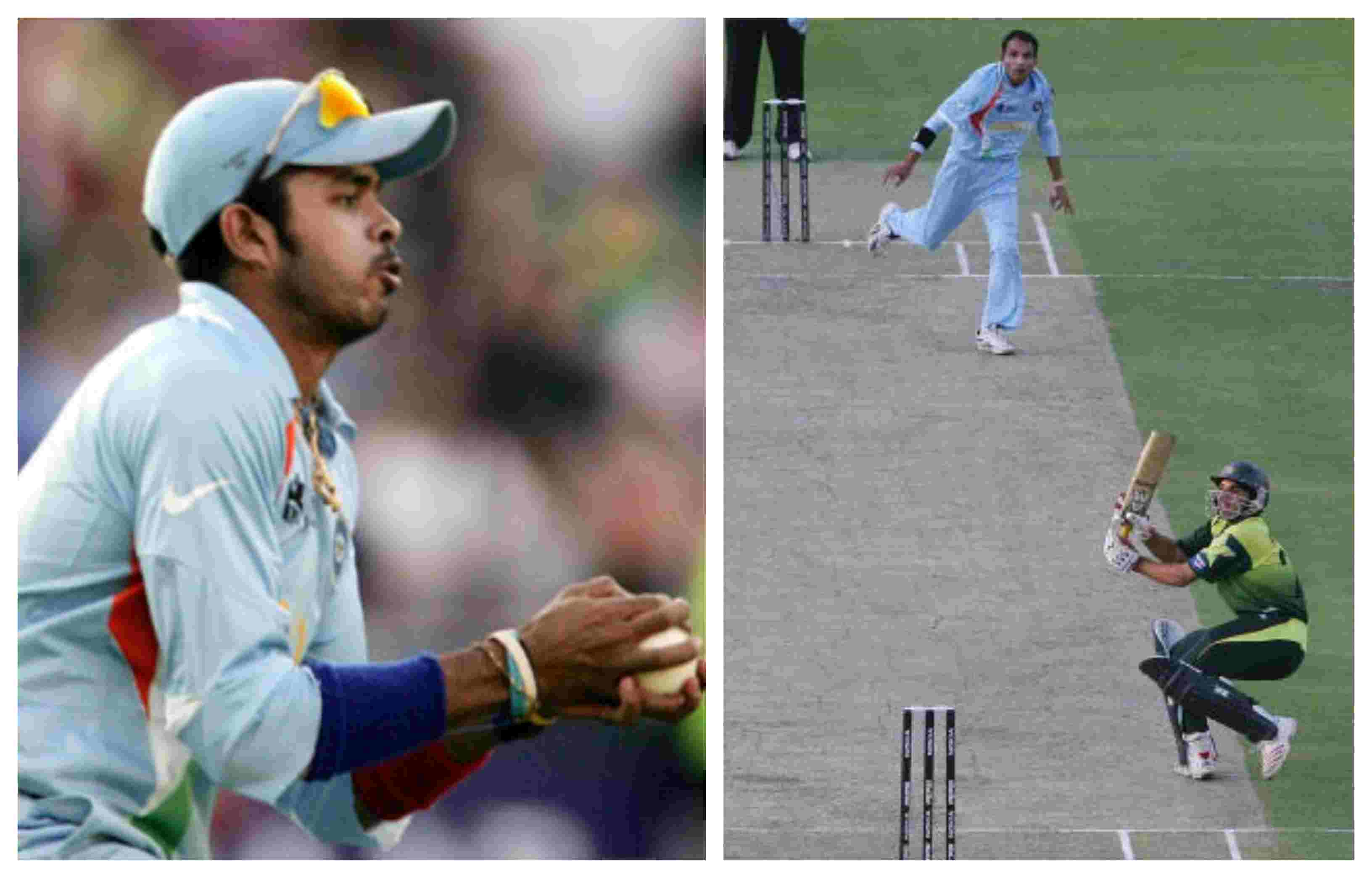 Sreesanth took the catch of Misbah to secure the inaugural ICC World Twenty20 for India
