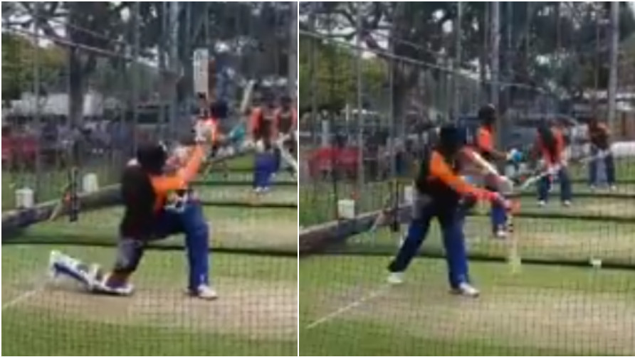WATCH: Jasprit Bumrah surprises everyone with his batting in net session