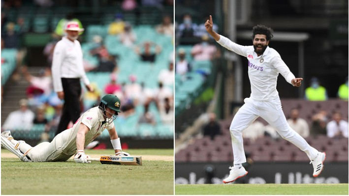 AUS v IND 2020-21: Ravindra Jadeja rates Steve Smith's run-out at Sydney as one of his best
