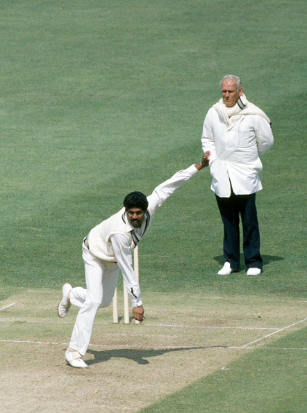 Captain Kapil Dev picked four wickets | Getty