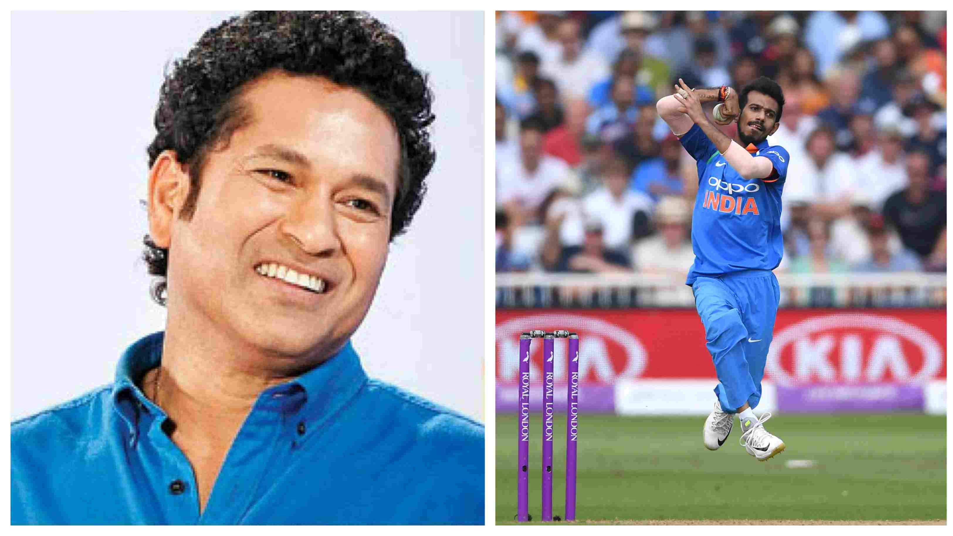 Sachin Tendulkar conveys a special birthday wish for Yuzvendra Chahal