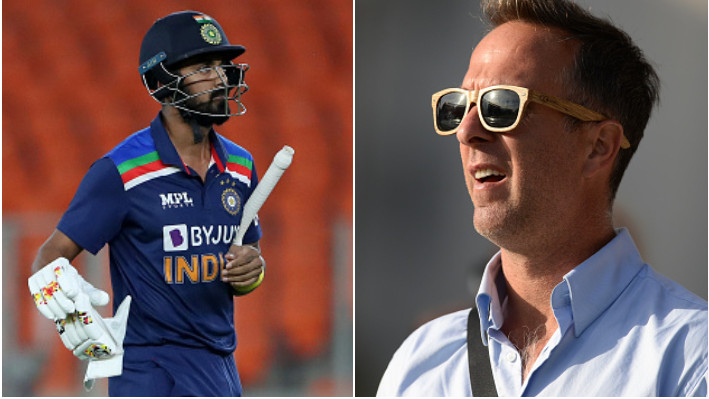 IND v ENG 2021: Michael Vaughan feels India should sit out KL Rahul for the series decider