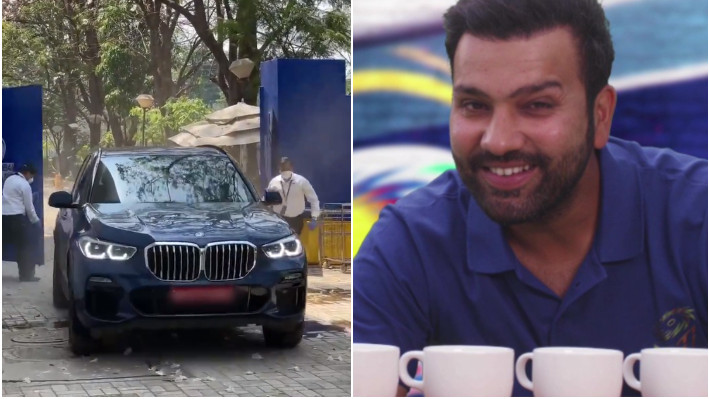 IPL 2021: WATCH - Skipper Rohit Sharma joins Mumbai Indians squad ahead of the tournament