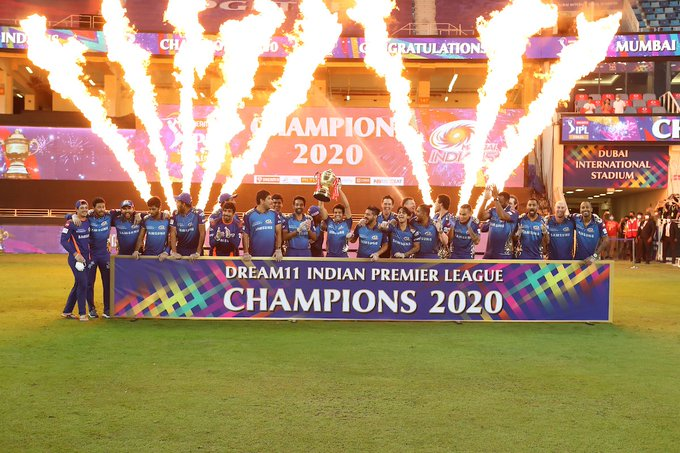 Mumbai Indians won the IPL 2020 | IPL/BCCI