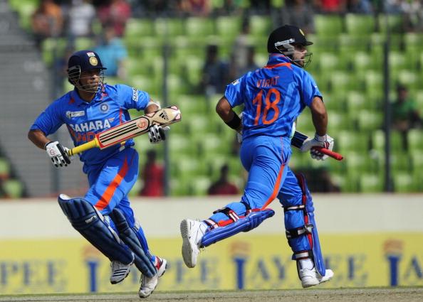 Sachin Tendulkar and Virat Kohli | Getty