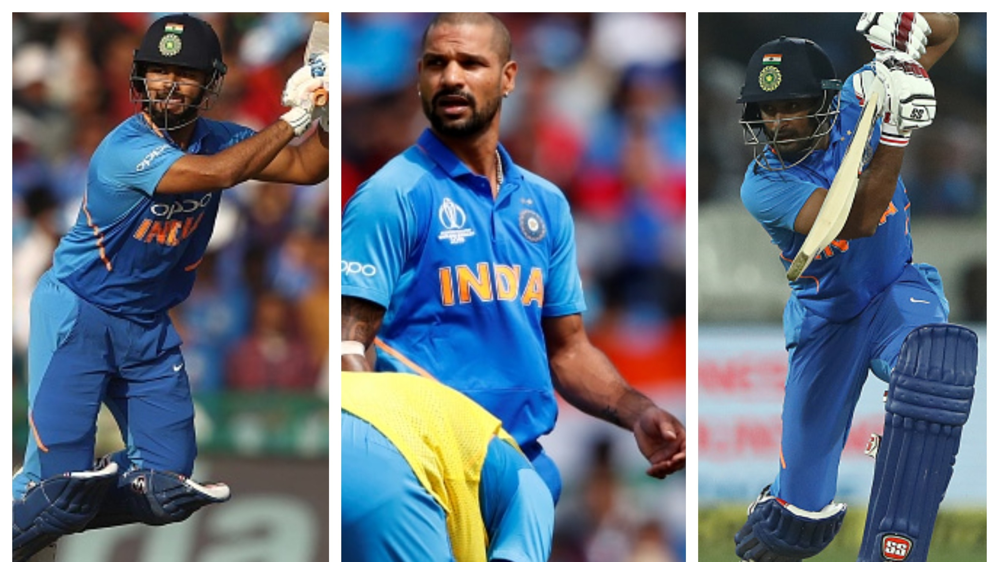 CWC 2019: Gavaskar, Pietersen bat for Pant's inclusion if Dhawan gets ruled out, Gambhir wants Rayudu