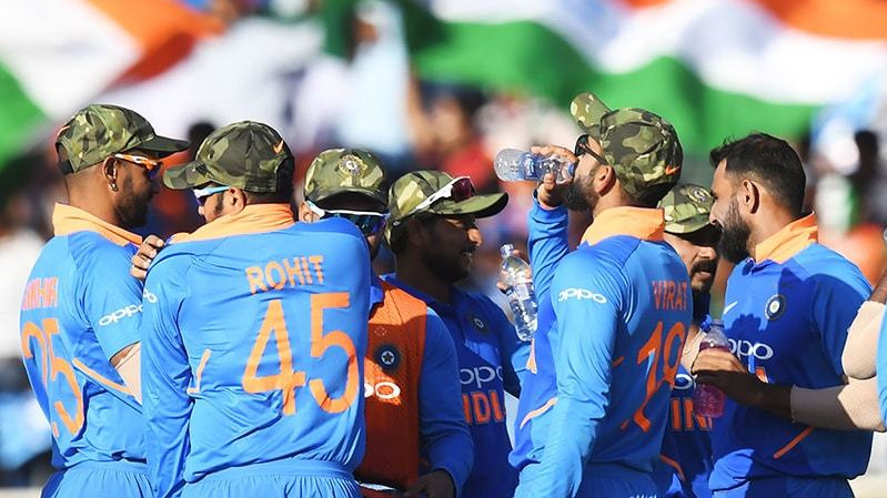IND v AUS 2019: BCCI sought permission to wear the camouflage caps, confirms ICC