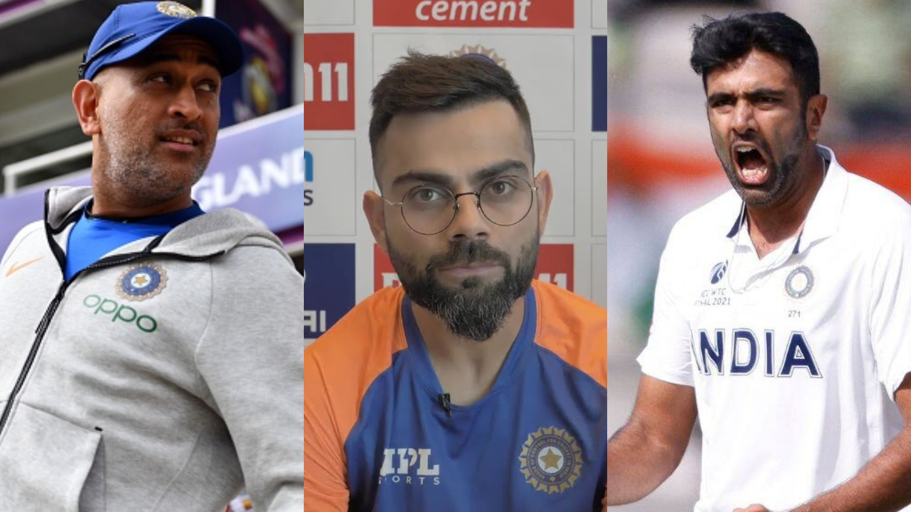 BCCI didn't consult Kohli on Dhoni as mentor, Ashwin's India selection for T20 World Cup 2021- Report