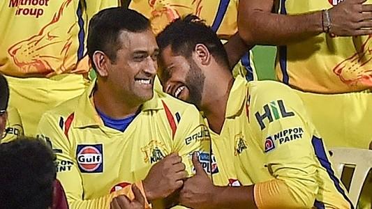 Suresh Raina calls MS Dhoni