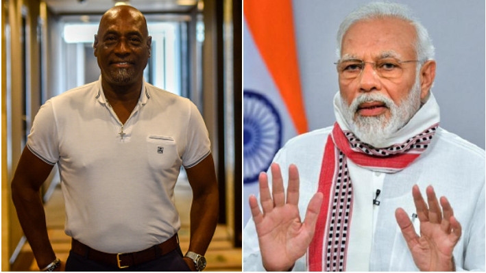 WATCH - PM Narendra Modi thanked by WI legends including Sir Viv Richards and Richie Richardson for COVID-19 vaccines