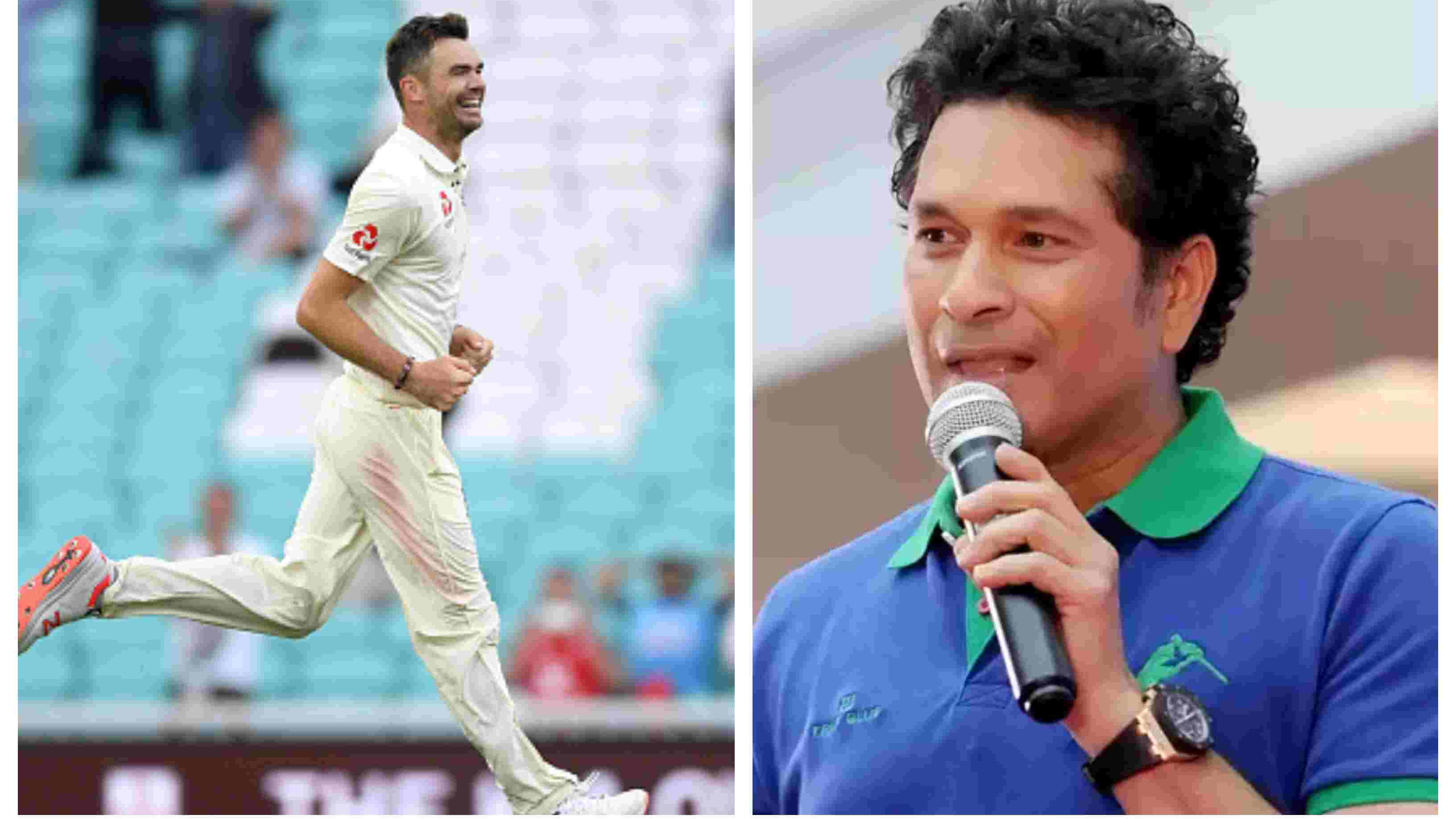 ENG v IND 2018: Sachin Tendulkar hails James Anderson for surpassing Glenn McGrath's world record