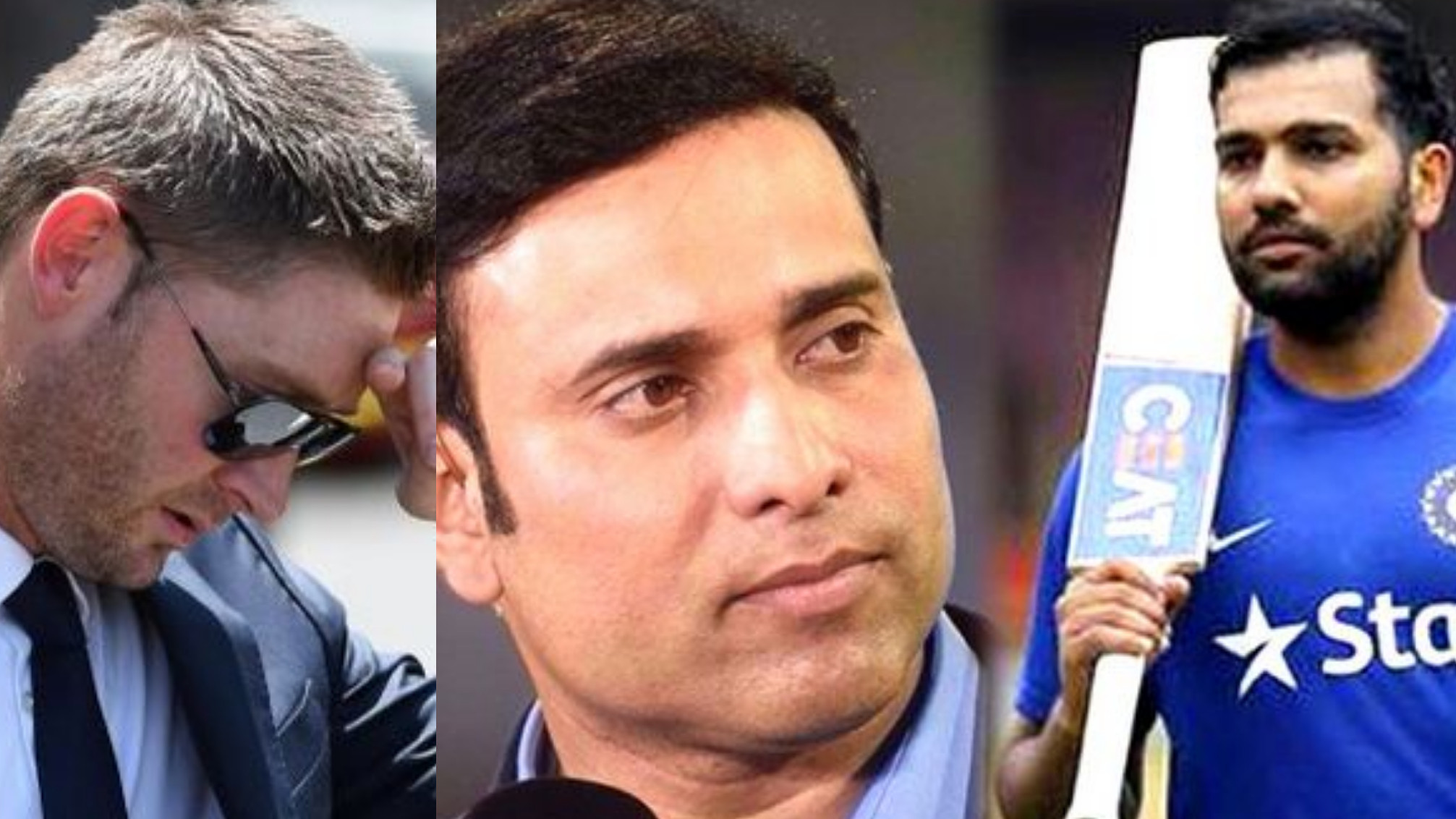 Michael Clarke picks Rohit Sharma over VVS Laxman in India's all-time Test XI; gets roasted