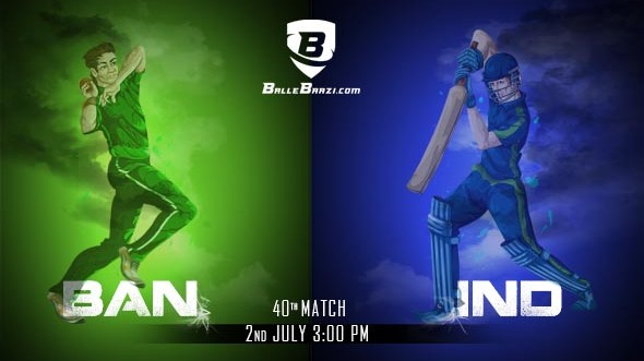 CWC 2019: Match 40, India vs Bangladesh: Best BalleBaazi Combination, Tips, Lineups & Team News
