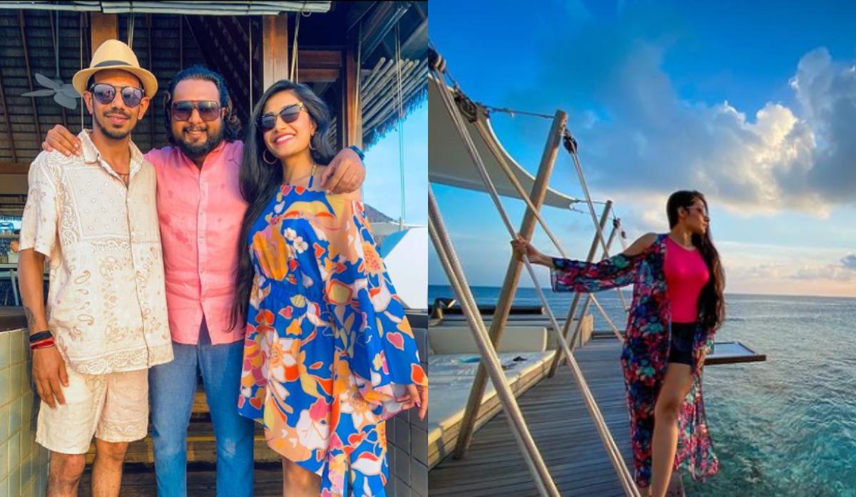 Yuzvendra Chahal and Dhanashree Verma spending quality time in Maldives   Instagram
