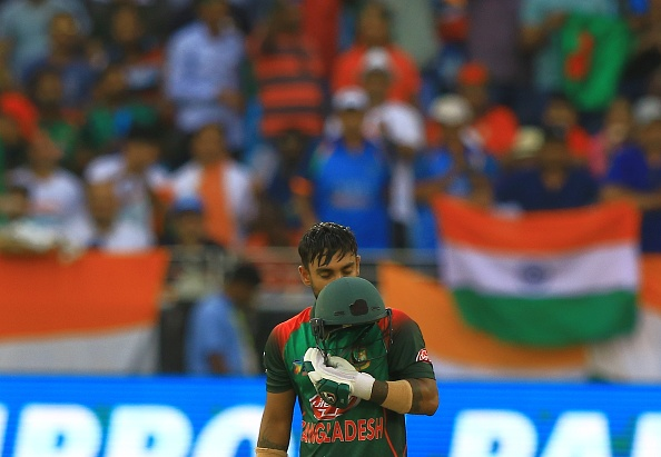 Liton Das celebrates his century in the Asia Cup 2018 final against India | Getty Images