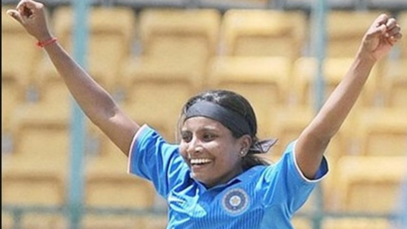 Womens T20I Tri-series: Radha Yadav to replace Rajeshwari Gaekwad for the remaining leg