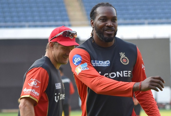 Shane Watson and Chris Gayle | RCB/Twitter
