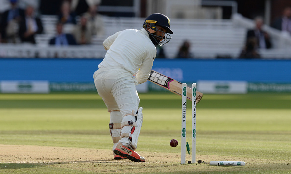 Dinesh Karthik scored 1 run in the Lord's Test including a first ball duck | Getty