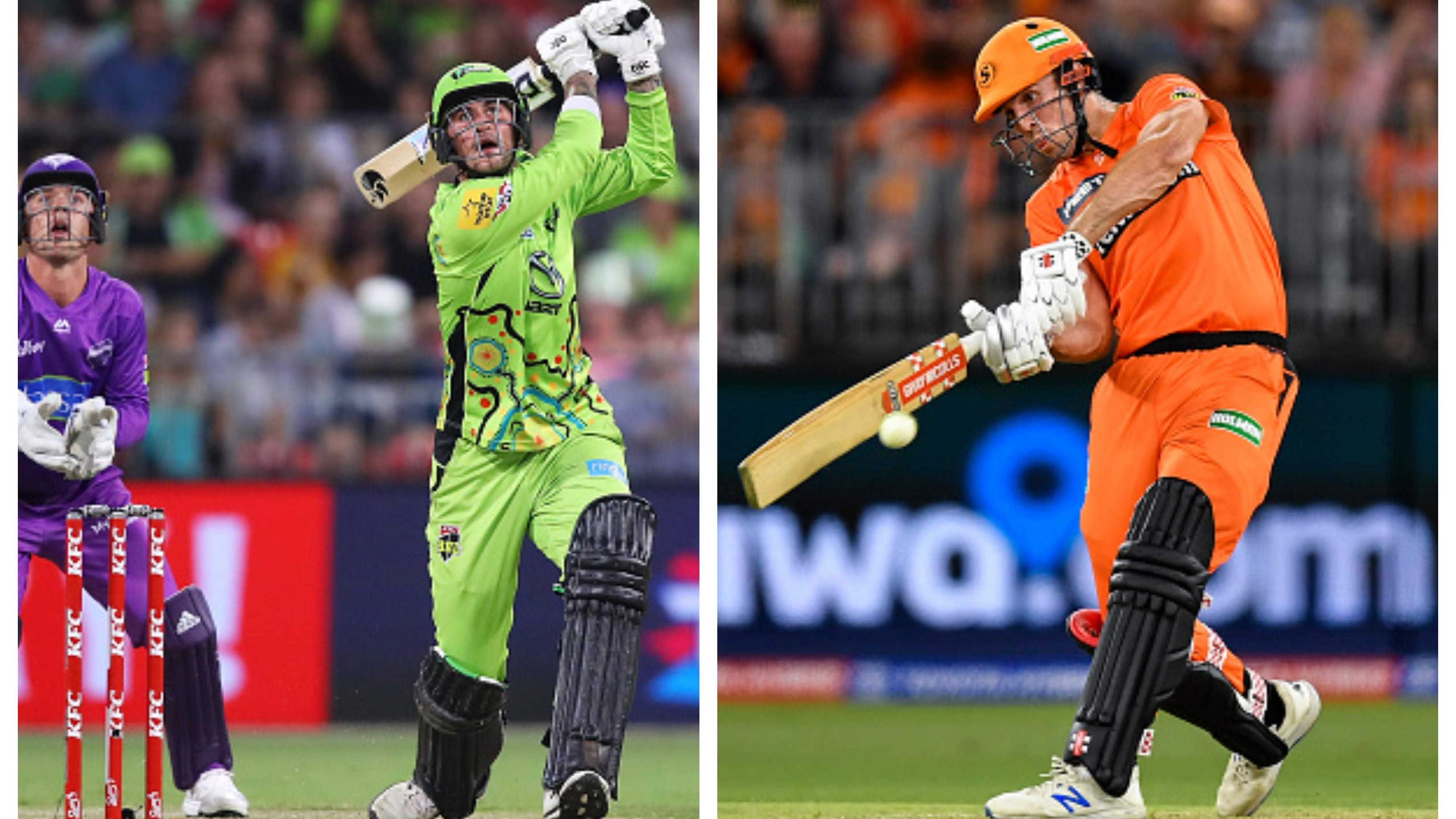 BBL 09: Thunder register a thrilling 4-wicket win over Hurricanes; Scorchers defeat Heat by 34 runs