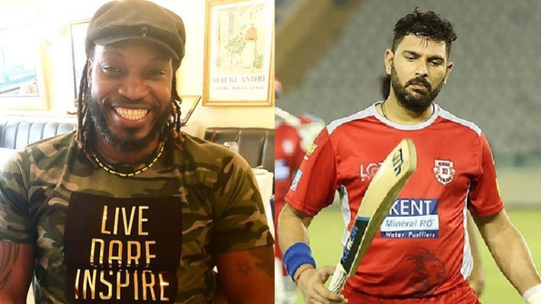 Yuvraj Singh in awe of Chris Gayle's positive attitude in every situation