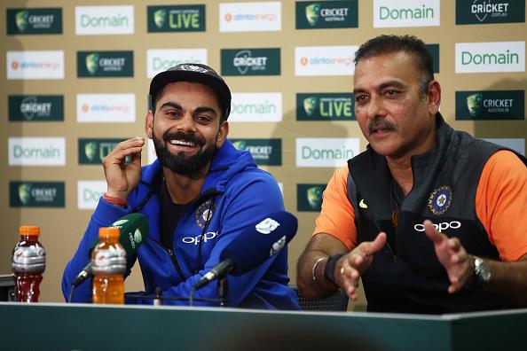 Virat Kohli and Ravi Shastri | Getty