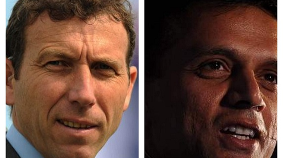 Rahul Dravid tells Michael Atherton about the strong young Indian talent pool and how it is broadening