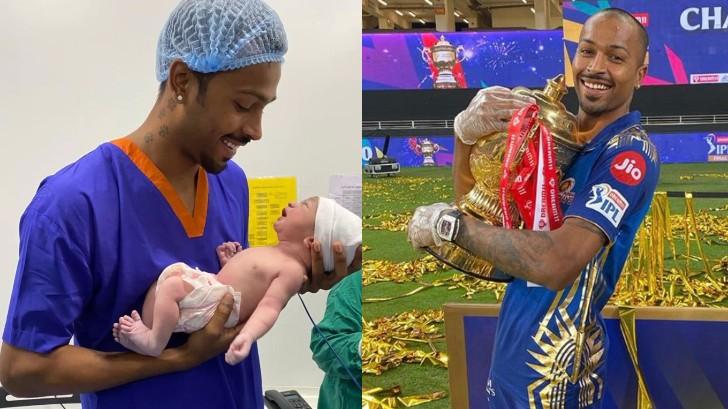 IPL 2020: Hardik Pandya dedicates IPL 13 victory to his 3-month-old son Agastya