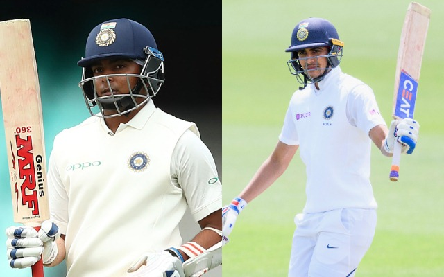 Prithvi Shaw or Shubman Gill, who will partner Mayank Agarwal in 1st Test