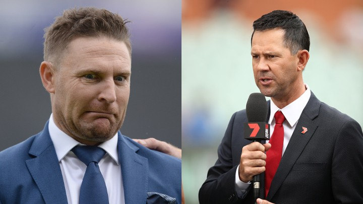 Brendon McCullum complains to Ponting for not replying to his texts; Ponting replies on Twitter