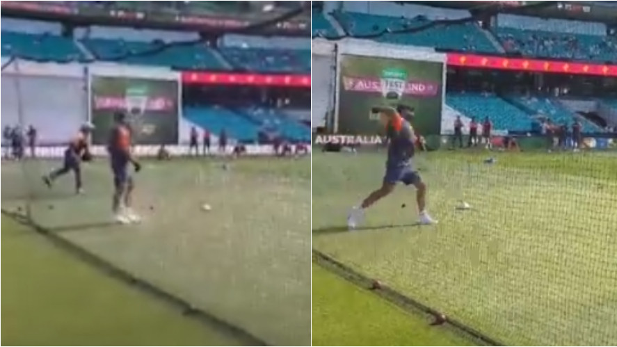 AUS v IND 2018-19: WATCH- Virat Kohli assists Rishabh Pant in his batting drills