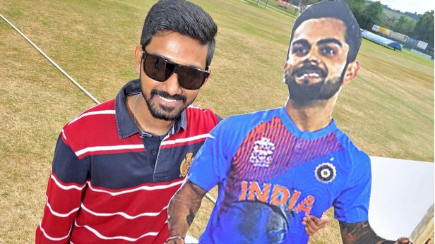 Virat Kohli's ardent fan makes luckless 10,000 mile trip to meet his hero in Guildford