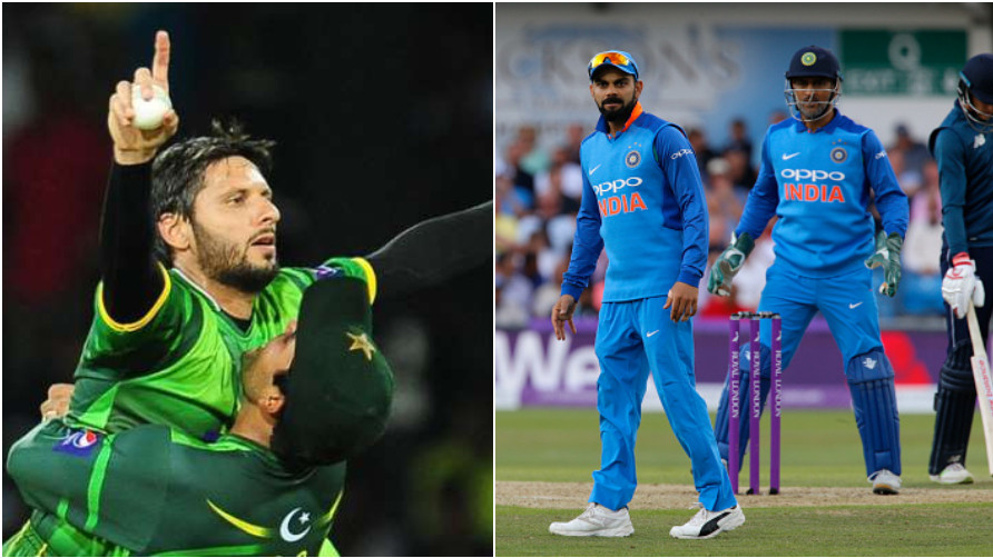 Shahid Afridi advises Virat Kohli to follow MS Dhoni's path as captain