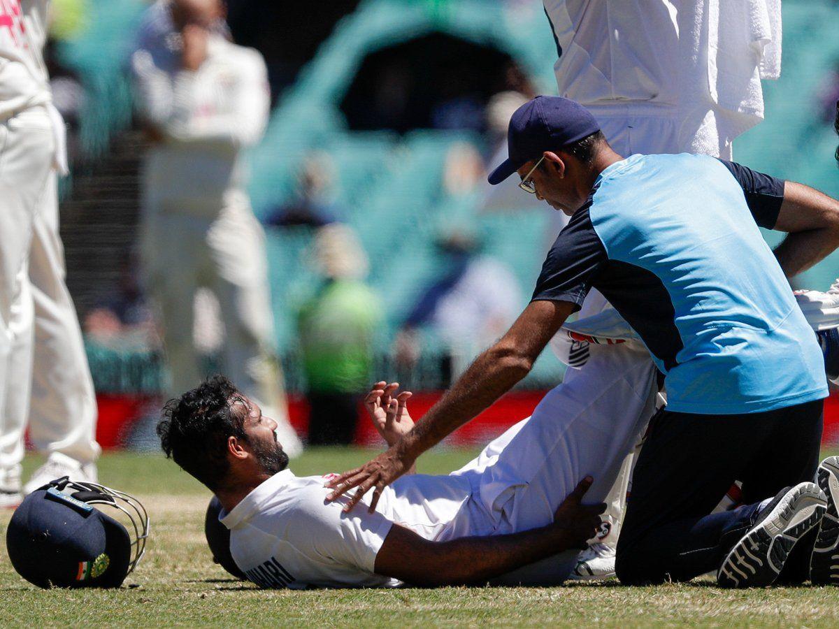 Hanuma Vihari suffered a Grade 2 tear in his right hamstring   AFP