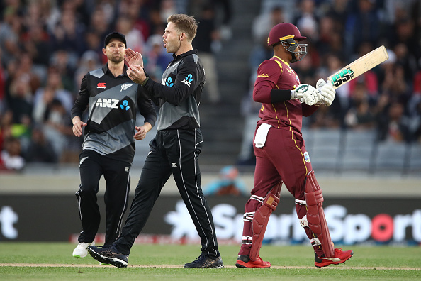 Lockie Ferguson starred with the ball for New Zealand | Getty