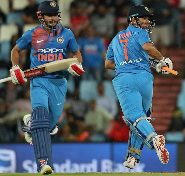 SA v IND 2018: Virat Kohli lauds Manish Pandey and MS Dhoni's herculean batting effort in Centurion T20I
