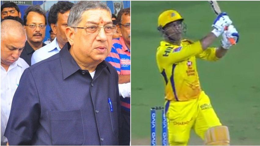 IPL 2020: Amid of retirement rumors, Srinivasan comments on MS Dhoni's future with CSK