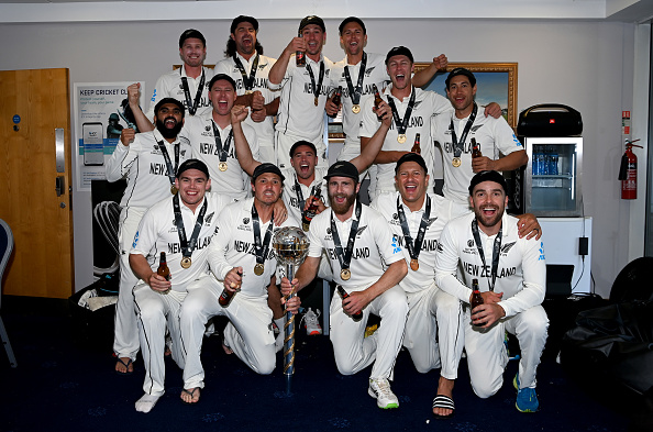 New Zealand won the inaugural WTC title | Getty