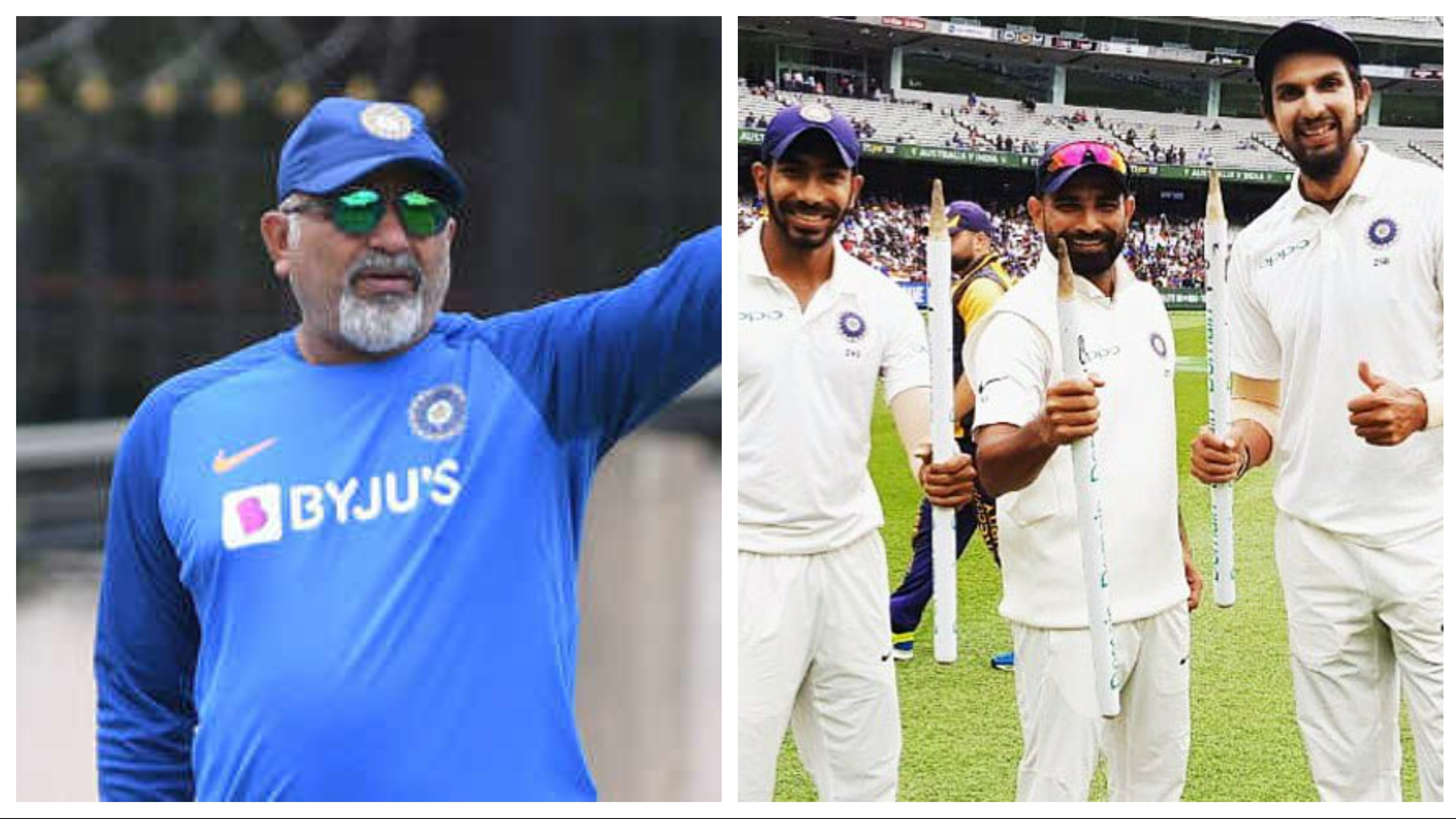 Bharat Arun says India's pace group can be on top for