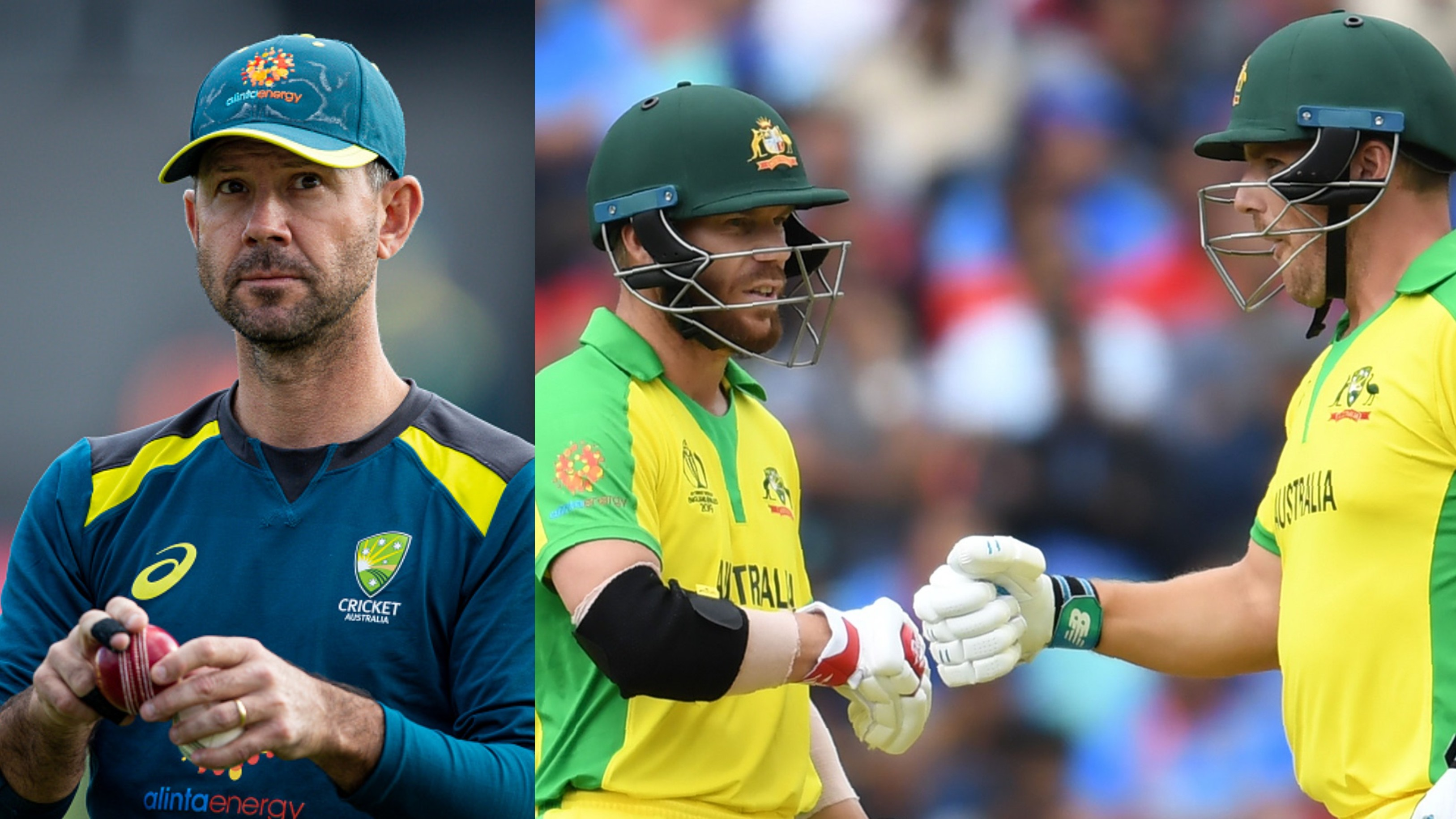 CWC 2019: Finch and Warner are probably as good as any openers in the world, says Ponting