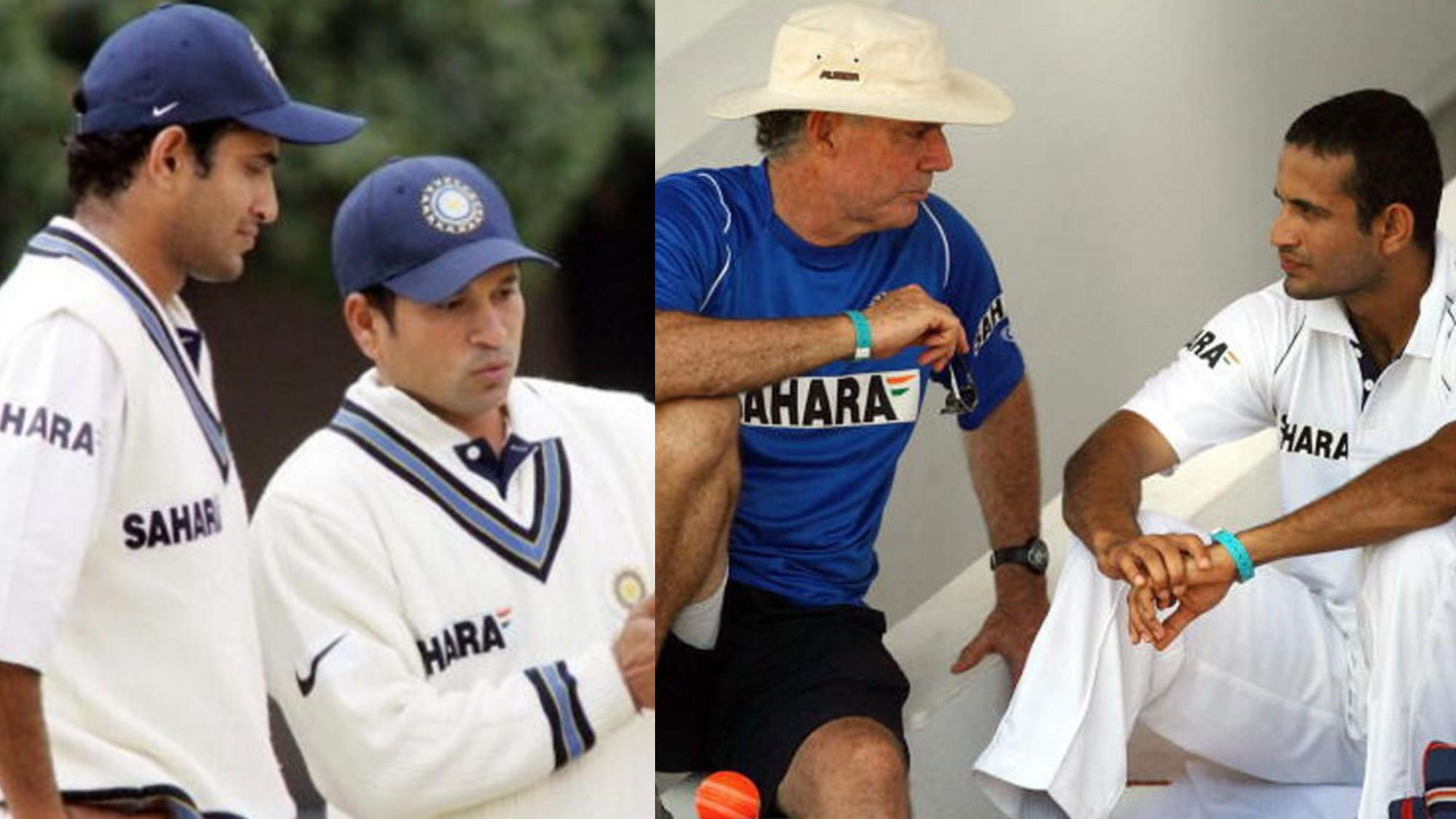 Irfan Pathan reveals it was Sachin Tendulkar's idea for him to bat at no.3, not Greg Chappell's