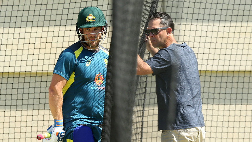 AUS v IND 2018-19: Finch showed that he can stand up under pressure, says Ricky Ponting