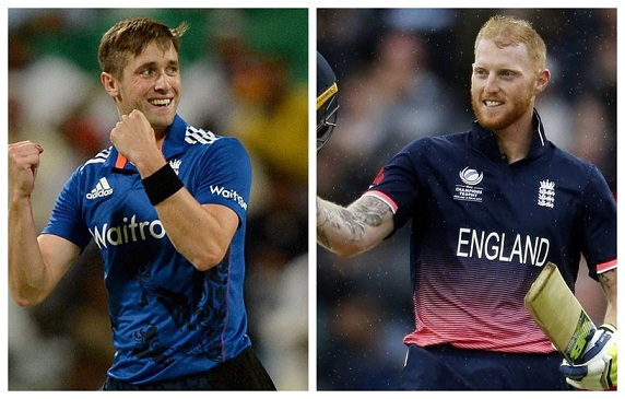 Chris Woakes and Ben Stokes | Getty