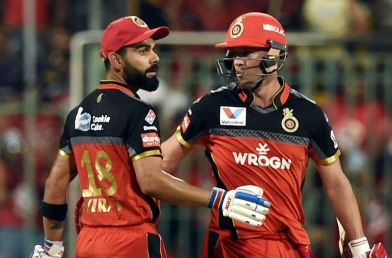 AB de Villiers and Virat Kohli | IANS