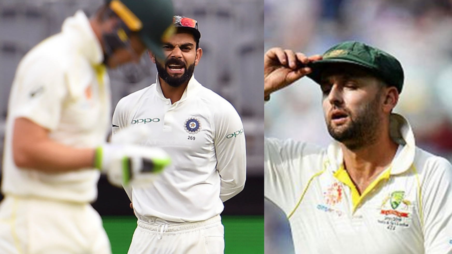 AUS v IND 2018-19: WATCH – Virat Kohli and Tim Paine indulge in war of words; Lyon comments on Kohli's conduct